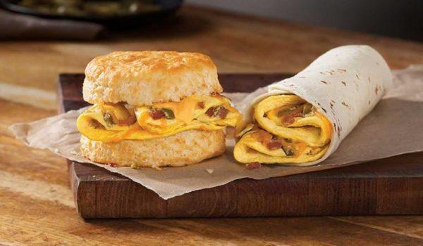 Hardee's unveils new 920-calorie breakfast burrito